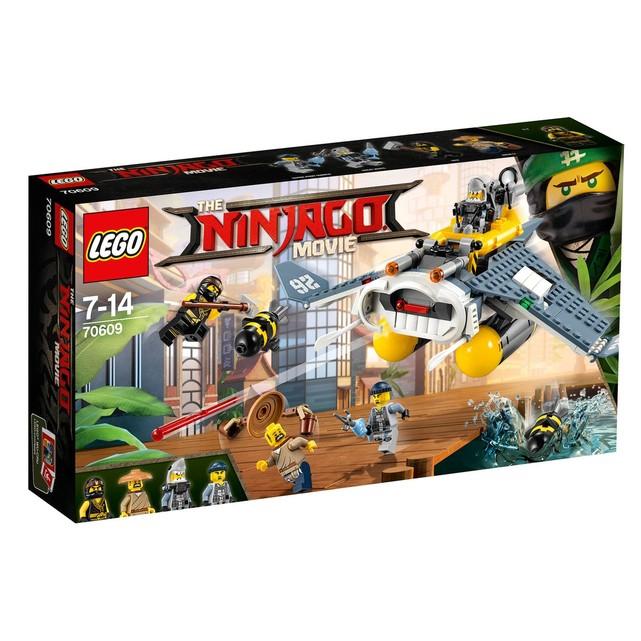 Sélection de jeux de construction en promotion - Ex: Jeu Lego - Le bombardier Raie Manta Ninjago 70609 (vendeur tiers)