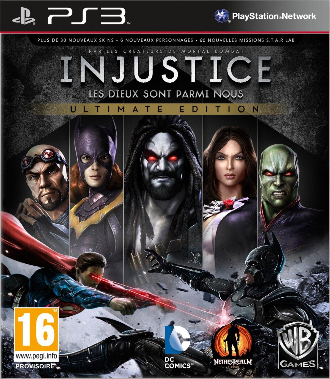 -80% sur une sélection de jeux vidéo - Ex: Injustice: les Dieux sont parmi nous - GOTY sur PS3