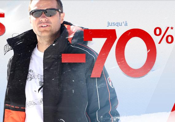 Soldes : Avalanches de réductions - Vêtements Outdoor ( Blouson, Parka.. )