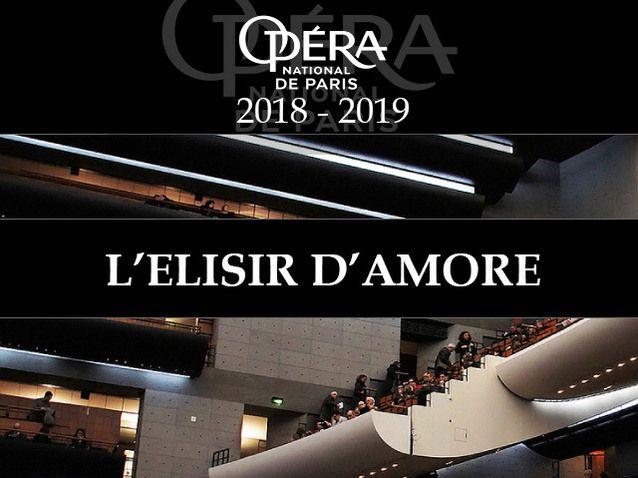 Place en première Catégorie à l'Opéra Bastille pour l'Elixir d'Amour de Donizetti - Paris (75)