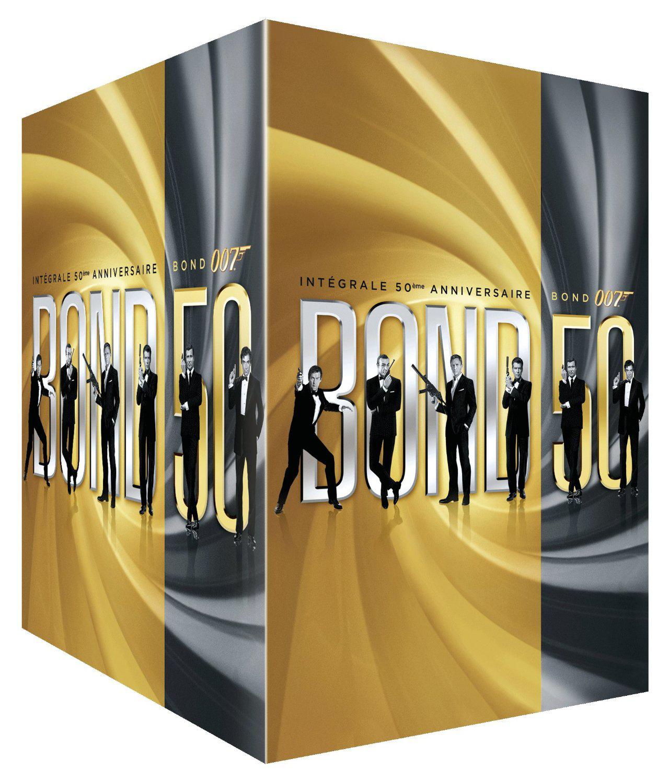 Coffret  James Bond : L'intégrale 50ème anniversaire 23 films DVD