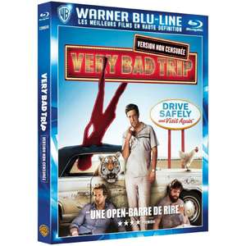 Blu-ray : Very Bad Trip version non censurée