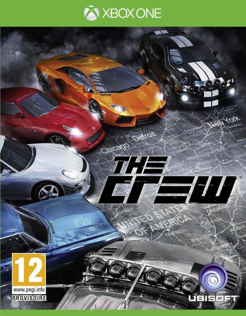 Jeu The Crew sur Xbox One