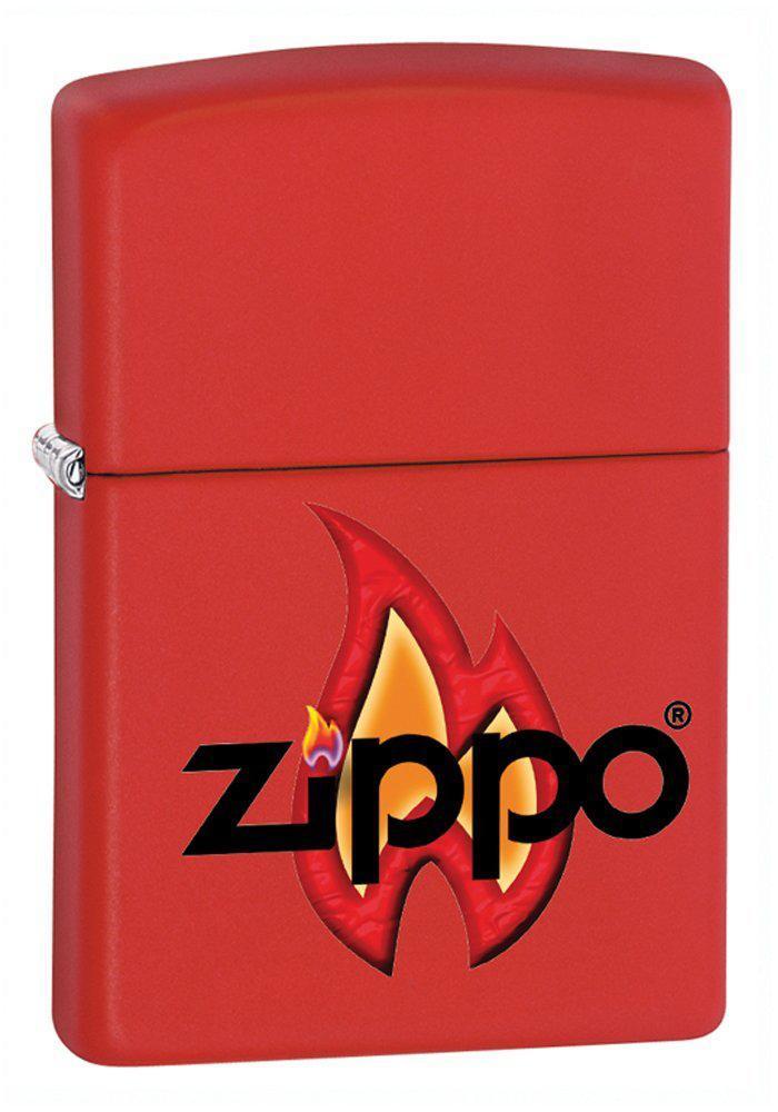 Sélection de Briquets Zippo en promo - Ex : Zippo 50811144 Briquet Zippo Flame 3,5 x 1 x 5,5 cm