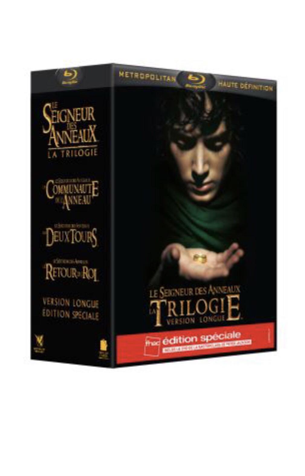 Coffret Blu-ray Trilogie Le Seigneur des Anneaux - 15 disques [Version Longue - Édition spéciale]