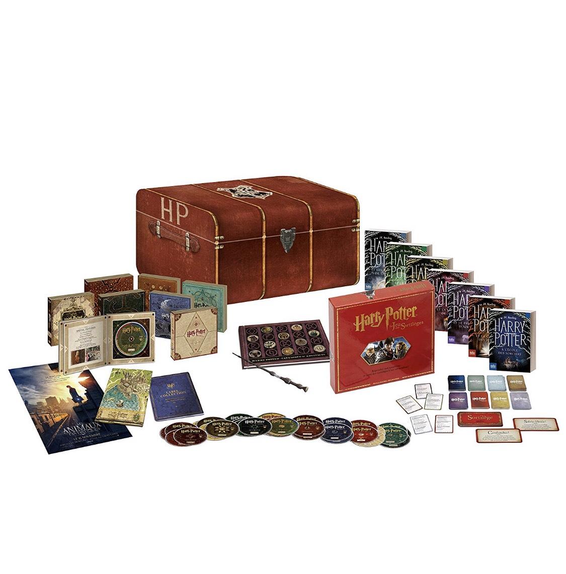 Coffret Blu-ray / DVD Harry Potter - L'Intégrale Édition Prestige (limitée et numérotée)