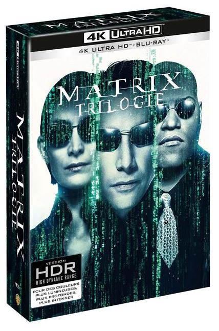 Coffret Blu-ray 4K : Trilogie Matrix
