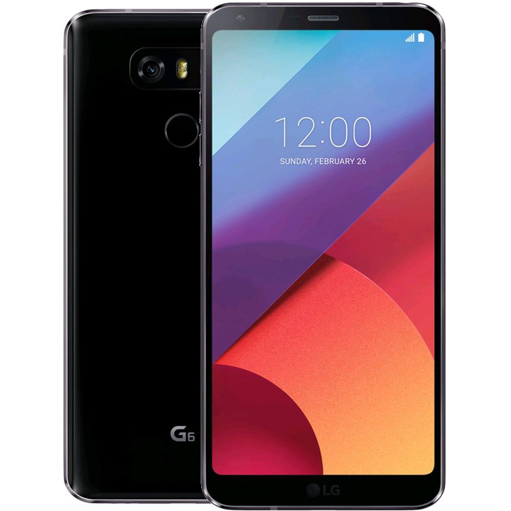 """Smartphone 5.7"""" LG G6 - QHD+, SnapDragon 821, 4 Go de RAM, 32 Go, Noir (Frontaliers Suisse)"""
