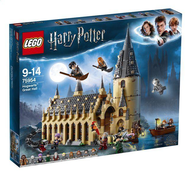 Jeu de Construction Lego Harry Potter 75954 - La Grande Salle du château de Poudlard (Frontaliers Belgique)