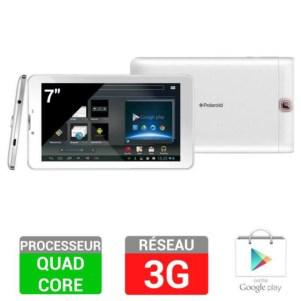 "Tablette 7"" Polaroid Infinite+ 3G 8Go - Blanc"