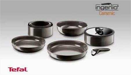 -50% sur les  poêles, casseroles et accessoires Tefal Ingenio céramique