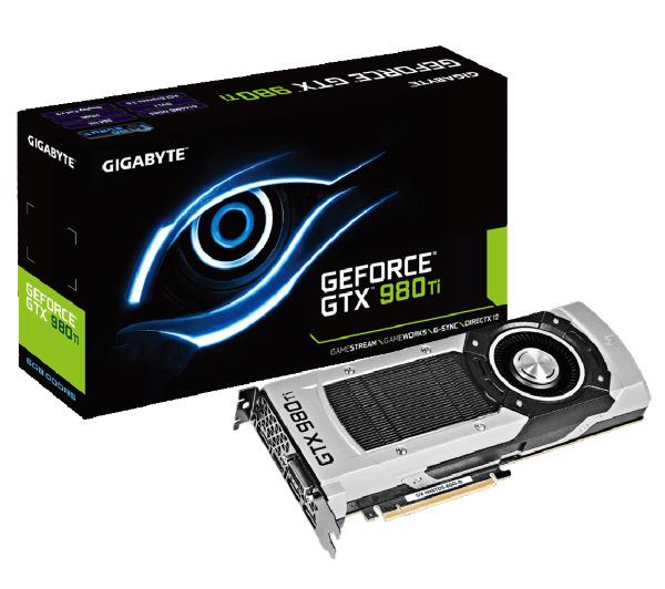 Carte graphique Gigabyte GeForce GTX 980 Ti - 6 Go