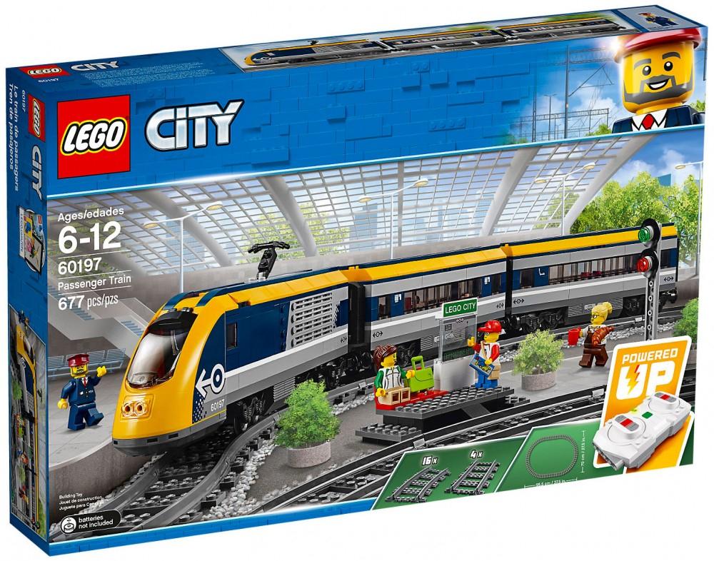Jouet Lego City Trains 60197 - Tournai (Frontaliers Belgique)