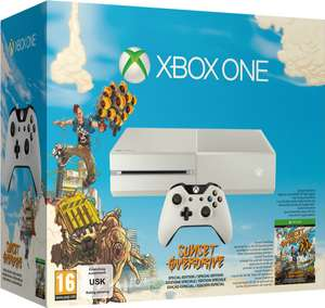 Console Xbox One Blanche - Edition Sunset Overdrive