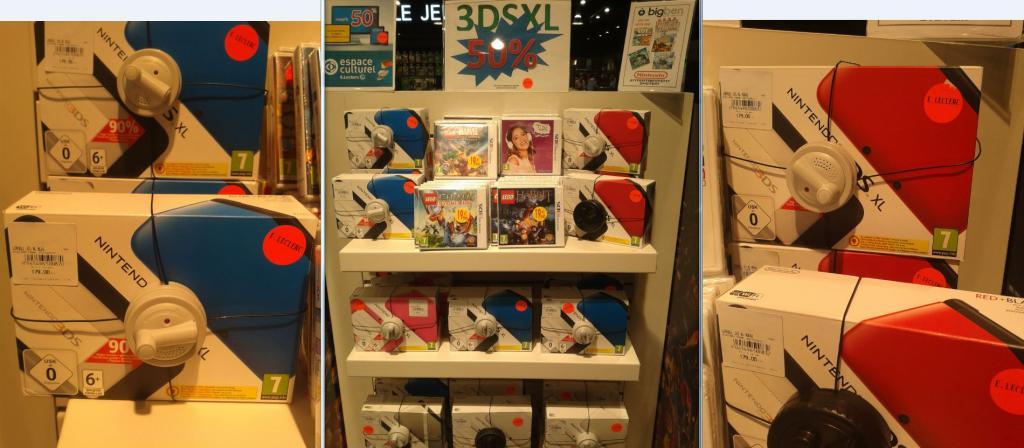Console Nintendo 3DS XL - Plusieurs couleurs