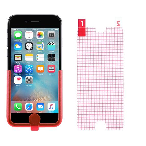 Film Protection d'écran antireflet pour Iphone 6/6S Tech21 Impact Shield