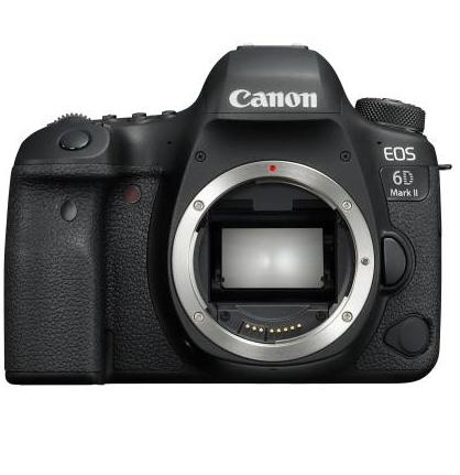 [Adhérents] Appareil photo Reflex Canon EOS 6D Mark II, Boîtier Nu - Noir + 150€ sur le compte fidélité
