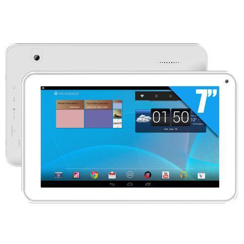 "Tablette 7"" Clust 4 Go CL4C07-HD-WH - Blanc"