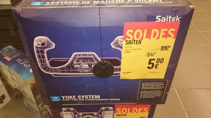 Joystick Saitek Pro Flight Palonnier Rudder Pedals