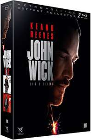 Coffret Blu-ray John Wick 1 & 2