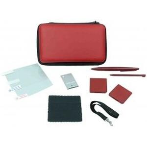 Kit d'accessoires 9-in-1 pour DSi XL ROUGE