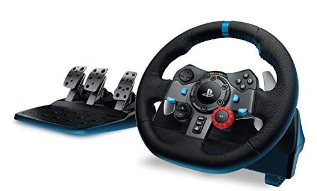 Volant de Course Logitech G29 pour PC, PS3 et PS4