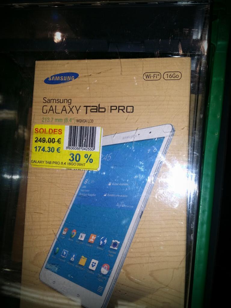 """Tablette 8.4"""" Samsung Galaxy Tab Pro 8.4 - 16 Go"""