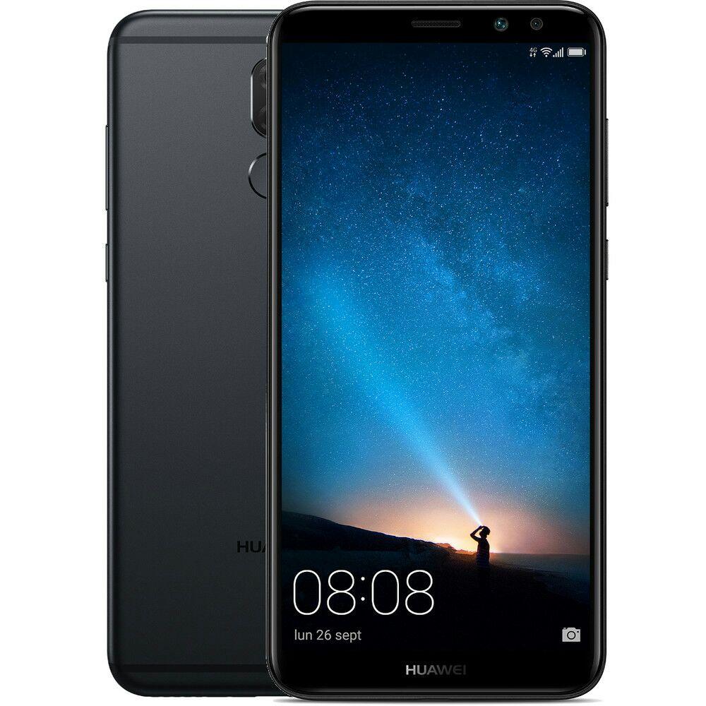 "Smartphone 5.9"" Huawei Mate 10 Lite Noir - Full HD+, Kirin 658, RAM 4 Go, ROM 64 Go, Double SIM + Coque transparente"