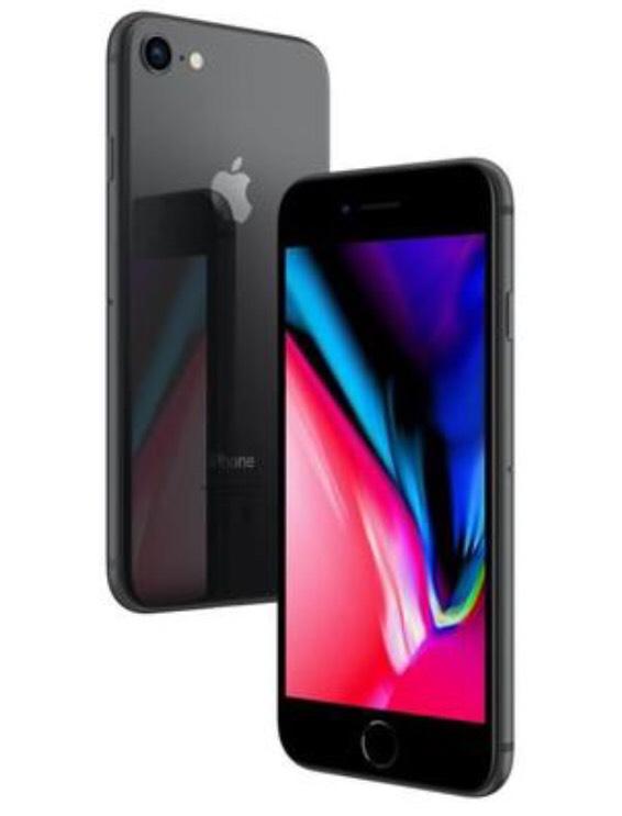 """Smartphone 4.7"""" Apple iPhone 8 - 2 Go de Ram, 64 Go, Plusieurs coloris aux choix (vendeur tiers)"""