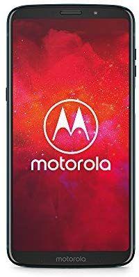 "Bundle Smartphone 6"" Motorola Moto Z3 Play (4 Go RAM, 64 Go) + Pack Power + Coque Moto Style - Cuir noir"