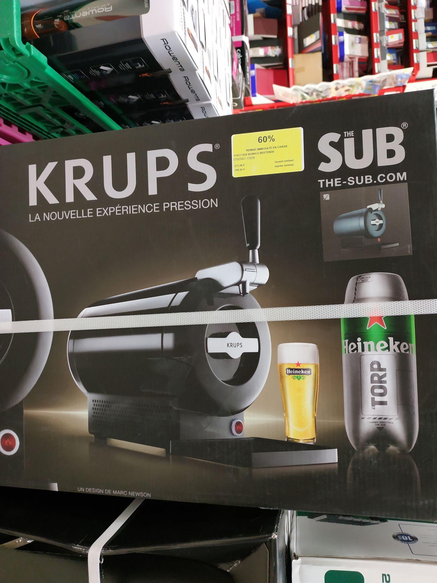 Pompe à bière KRUPS à Carrefour Aire-sur-la-Lys (62)