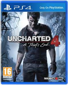 Jeu Uncharted 4 : A Thief's End sur PS4 (+0,75€ en SuperPoints)