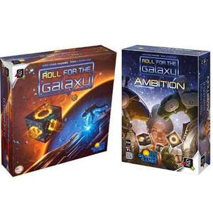 Bundle Roll for the Galaxy : Jeu de base + extension Ambition - En français (ludifolie.com)