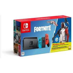 Pack Console Nintendo Switch + Fortnite