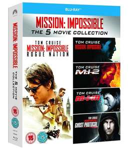 Coffret Blu-ray Mission: Impossible 1-5
