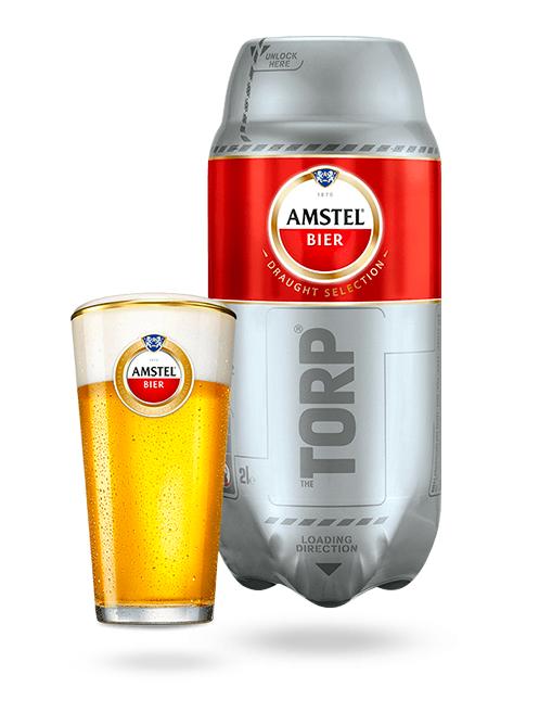 Bière The sub Torp Amstel Pilsener - 2L