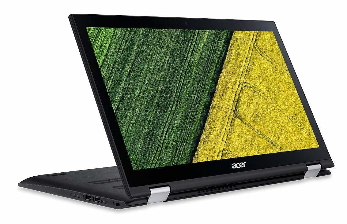 """Ultrabook 15.6"""" Acer Spin SP315-51-372X - HD Tactile, Intel Core i3, 4 Go de RAM, SSD 128 Go, Intel HD Graphics, Windows 10"""