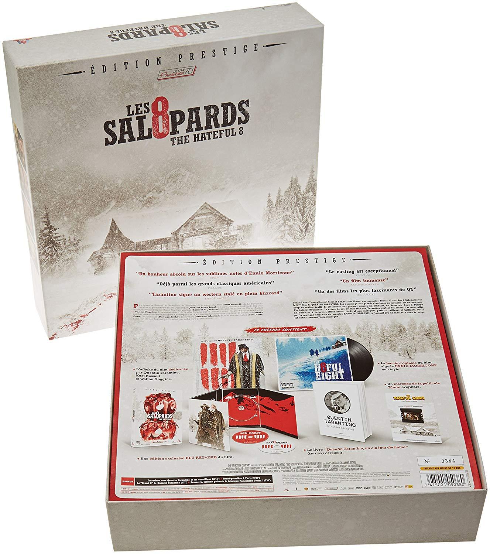 Coffret Blu-ray Les 8 Salopards - Edition Prestige