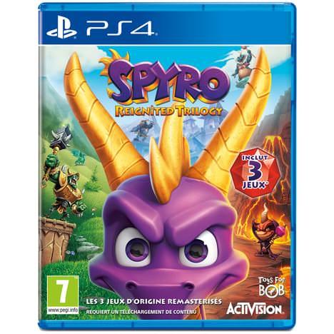 Spyro Reignited Trilogy sur PS4