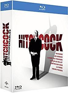 Coffret Blu-ray Hitchcock - Les 7 films indispensables