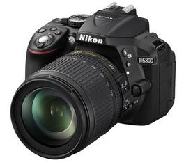 Appareil photo Reflex Nikon D5300 + AF-S 18-105vr (ODR 50€)