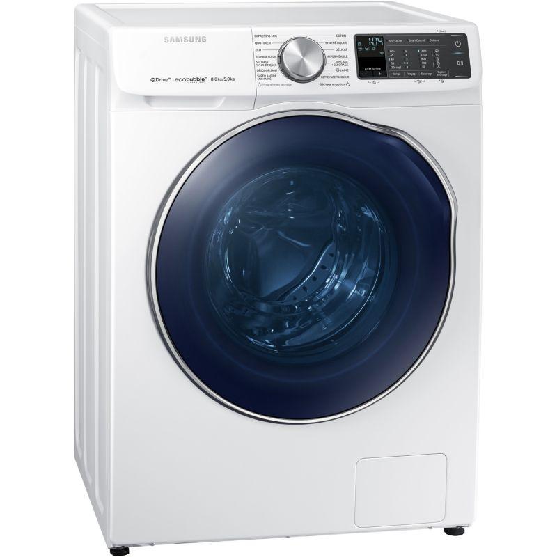 [Adhérents Macif] Lave linge séchant Samsung WD80N645OAM Quickdrive - 8kg/5kg (Via 300€ d'ODR)