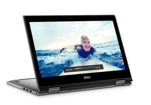 """PC Portable 2 en 1 Tactile 13.3"""" Ultrabook Dell Inpiron 13 5000  - Full HD, i7-8550U, 16 Go de RAM, 512 Go de SSD, Intel UHD 620, Windows 10"""