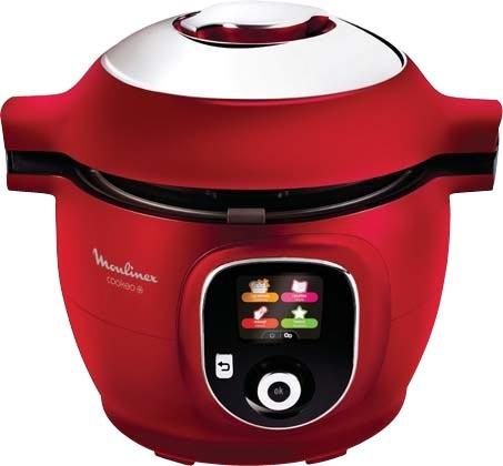 Multicuiseur Intelligent Moulinex Cookeo CE851500 (via 30€ sur la carte fidéilité) - 1600W, rouge