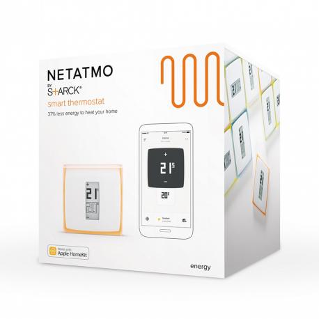 Thermostat connecté Netatmo NTH01-FR-EC (via ODR de 30€)
