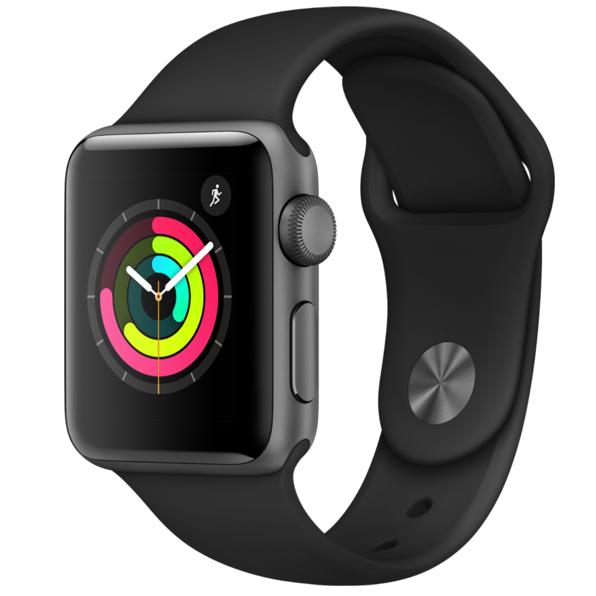 Montre connectée Apple Watch Series 3 - 38 mm (ou 42mm à 299€)