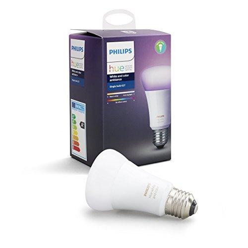 Lumière connectée Ampoule Philips Hue E27 Hue White Colors