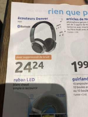 Casque Sans Fil Denver Avec Réduction De Bruit Dealabscom