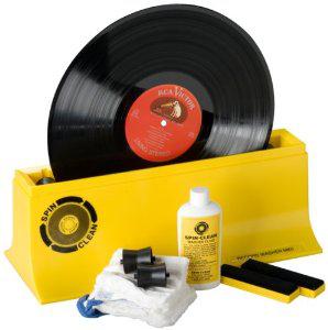 Kit de démarrage Spin-Clean pour le nettoyage des vinyles