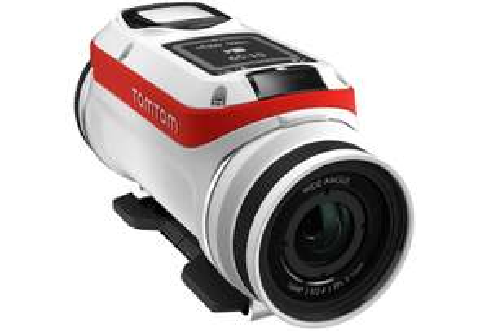 Caméra Tomtom Bandit + cache lentille étanche